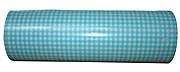 Geschenkpapier Vichy Muster Hellblau Rolle 250m x 50cm
