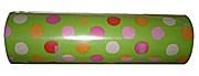 Geschenkpapier Hellgrün mit Punkten Rolle 250m x 50cm