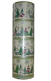 Geschenkpapier Tannenbäume  Lillesand Weihnacht Rolle 250m x 50cm  Woerner