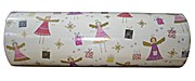 Woerner Geschenkpapier Weihnachten Engel Rolle 250m x 50cm