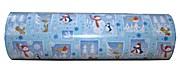 Woerner Geschenkpapier Weihnachten Blau Rolle 250m x 50cm
