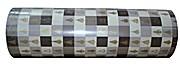Stewo Geschenkpapier Weihnachen Marbella grau Rolle 250m x 50cm