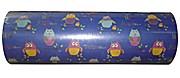 Woerner Geschenkpapier Eulen Hibou blau Rolle 250m x 50cm