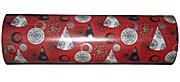 Woerner Geschenkpapier Weihnachten Kupferberg rot Rolle 250m x 50cm