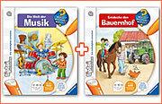 """tiptoi® Paket: Buch """"Welt der Musik"""" + Buch """"Entdecke den Bauernhof"""""""